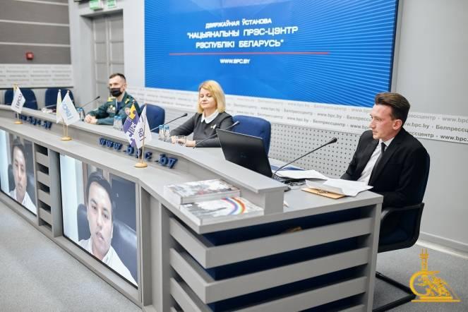 Курсант МЧС представил два проекта УГЗ в рамках международной диалоговой площадки «Презентация лучших практик»