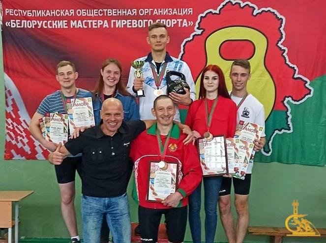 Атлеты УГЗ – победители открытого кубка Беларуси по гиревому марафону «Геркулес»