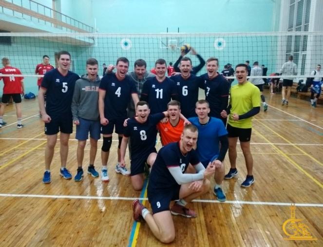 Триумф волейболистов из университета МЧС