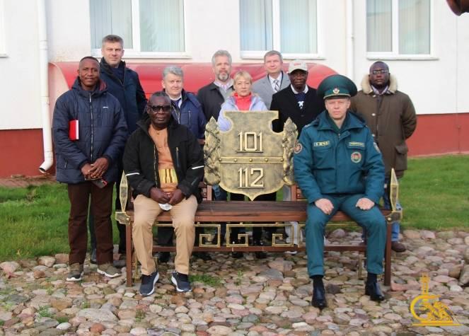 Национальная пожарная служба Ганы заинтересована в сотрудничестве с филиалом ИППК университета МЧС