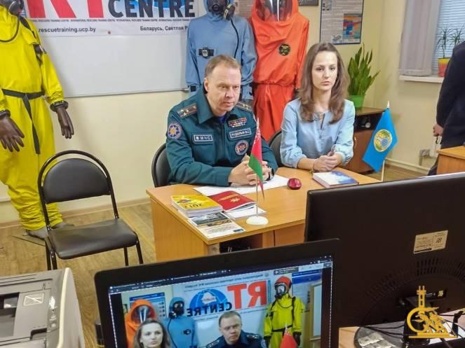 Иностранные специалисты дистанционно прошли подготовку в Беларуси по защите от химического оружия