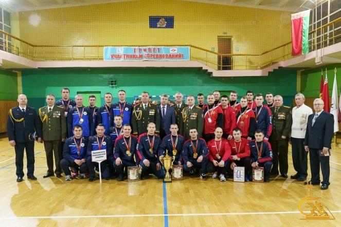 Сборная УГЗ – бронзовый призер турнира на Кубок председателя Бобруйского горисполкома