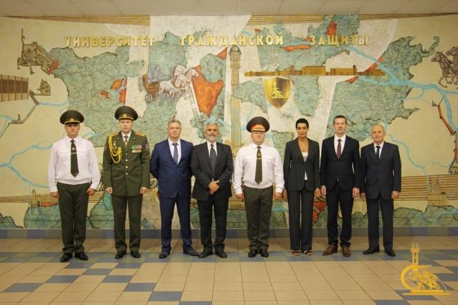 Представители спасательных ведомств России и Италии посетили УГЗ