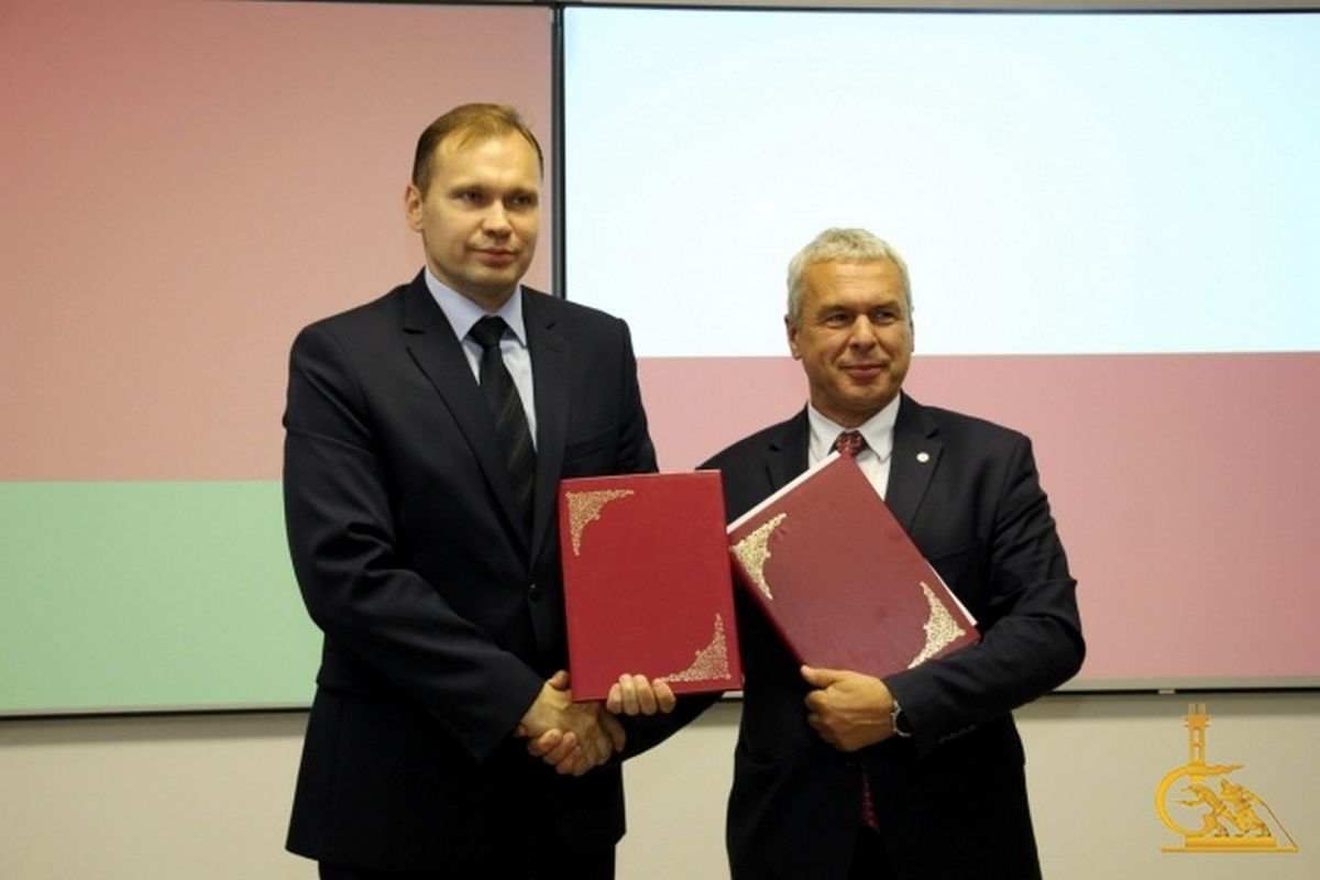 УГЗ и Международный центр химбезопасности и защиты подписали Меморандум о взаимопонимании