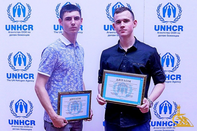 Курсанты МЧС стали победителями конкурса «Безгражданство: каждый человек имеет право на гражданство»