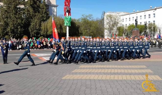 Курсанты МЧС приняли участие в торжественных мероприятиях, проходящих в Бресте