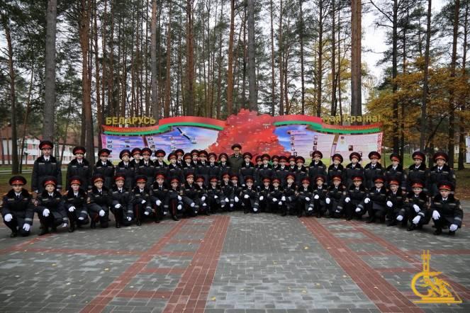 Торжественную Клятву лицеиста произнесли 60 первокурсников Лицея МЧС