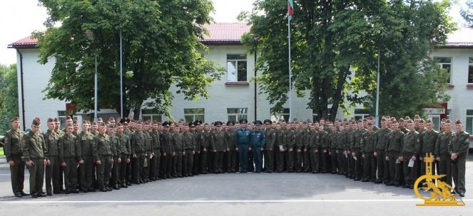 110 первокурсникам присвоен 7 квалификационный разряд по профессии «Спасатель-пожарный» (ДОПОЛНЕНО)